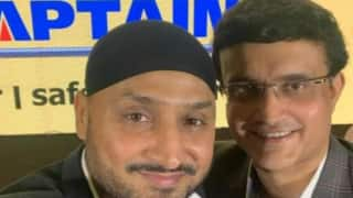 When Harbhajan Singh Got Emotional While Taking About Sourav Ganguly | Watch