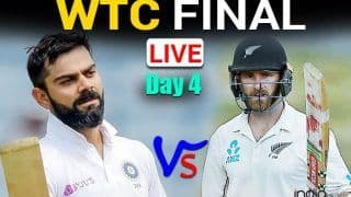 MATCH HIGHLIGHTS IND vs NZ WTC Final, Today DAY 4 Cricket Updates: Reserve Day in Focus as Play Abandoned Due to Rain in Southampton