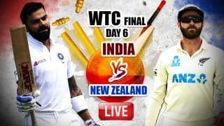 MATCH HIGHLIGHTS IND vs NZ WTC Final, Reserve Day Cricket Updates: Williamson's Fifty, Southee Heroics Power New Zealand to Test Glory; Beat India by 8 Wickets