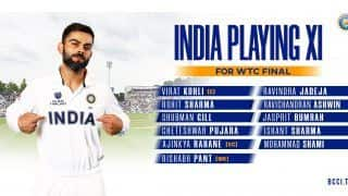 WTC Final: India Announce Playing XI vs New Zealand, Picks Ashwin And Jadeja