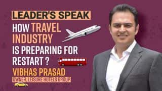 Impact of Covid 19 on Travel And Toursim Industry: Revival Critical | Vibhas Prasad, Owner Leisure Hotels Group