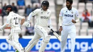 India vs new zealand day 5 jasprit bumrah wear normal indian jersey instead of wtc final dedicated jersey ind vs nz 4760162