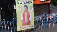 कोलकाता: कैलाश विजयवर्गीय के खिलाफ भाजपा कार्यालय के बाहर लगे 'वापस जाओ' के पोस्टर, मचा बवाल