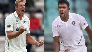Ind vs nz kyle jamieson beat ravichandran in most 5 wicket haul in wtc 4755467