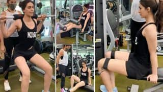 Kriti Sanon Hates Squats, Shares Glimpse of Her 'Leg Day' in a Highly Relatable And Hilarious Video