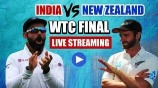 Ind vs NZ Final LIVE Streaming: When And Where To Watch WTC 2021 India vs New Zealand in India