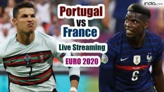 POR vs FRA Live Streaming EURO 2020: When And Where to Watch Portugal vs France Live Stream Football Match Online and on TV