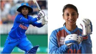 Mithali Raj Returns to Top-Five in ICC Women's ODI Batting Rankings, Smriti Mandhana Slips to 9th Spot