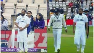 VIDEO: Mohammed Shami in a Towel During WTC Final at Southampton is BIZARRE to Say The Least