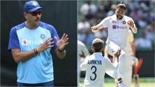 Cricket: Mohammed Siraj Reveals Ravi Shastri's Pep Talk Which Motivated Him to Stay Back in Australia After Father's Death