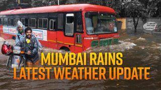 Mumbai Rains Latest Weather Update: मुंबई में भारी बारिश के बाद कई इलाकों में जल भराव; IMD ने जारी किया अलर्ट