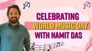 World Music Day 2021: Actor-Cum-Musician Namit Das Speaks His Heart Out About Music | Watch Interview