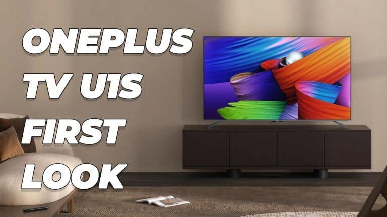 OnePlus TV U1S: First Look And Features   Everything That You Need To Know