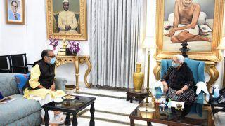 यूपी विधानसभा चुनाव से पहले भाजपा में हाई वोल्टेज ड्रामा, राज्यपाल से मिले राधा मोहन सिंह; अटकलें तेज