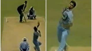 WATCH | When Rahul Dravid Picked up Two Wickets in One Over in Sensational ODI Spell