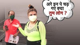 Paparazzi Talks: Rakhi Sawant Spotted Outside Her Gym | Exclusive Chat