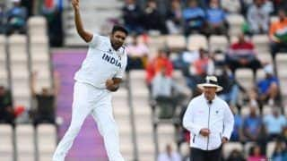 Icc world test championship 2021 india vs new zealand ravichandran ashwin becomes most wicket taking bowler in wtc leave behind pat cummins 4763272