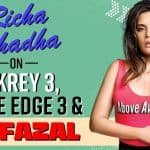 Gangs Of Wasseypur Fame, Richa Chadha Gives Interesting Insights On Fukrey 3, Inside Edge 3, Personal Life & More   Watch Interview