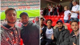 Rishabh Pant Spotted Without Mask at Wembley During England vs Germany EURO 2020 Match, PIC Goes Viral