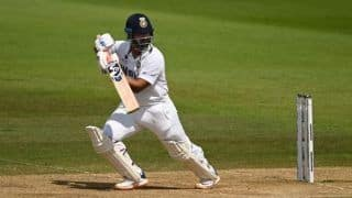 India vs new zealand wtc 2021 day 6 lunch report rishabh pant ravindra jadeja try to take india out of dangerous situation 4762663