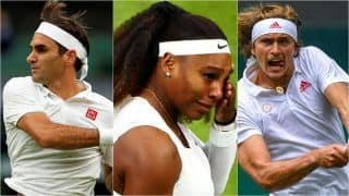Wimbledon 2021 Results: Serena Williams Withdraws With Leg Injury, Roger Federer Survives Scare to Reach 2nd Round; Ashleigh Barty, Alexander Zverev Advance