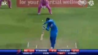 VIDEO: When Rohit Sharma Got Standing Ovation For Finally Getting Bat on Ball Against Dale Steyn