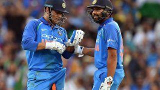 When MS Dhoni's Prediction Came True For Rohit Sharma's 264-Run Knock