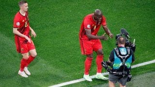 VIDEO: Romelu Lukaku Dedicates Goal Against Russia in UEFA EURO 2020 to Christian Eriksen