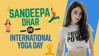 International Yoga Day 2021: Exclusive Interview with Sandeepa Dhar on Importance of Fitness   Watch Video