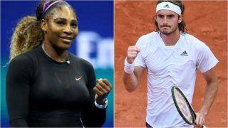 French Open 2021 Results: Serena Williams Survives Scare to Reach Third Round; Stefanos Tsitsipas, Alexander Zverev Advance