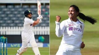 INDW vs ENGW 2021 Match Report: Debutants Sneh Rana, Shafali Verma Secure Thrilling Draw For India Women Against England in One-Off Test