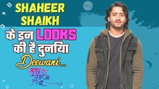 TV Actor Shaheer Sheikh's Five Take Away Looks | Watch Video