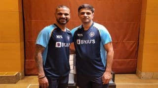 Video: Nice to be Out of Quarantine, Says Rahul Dravid Before Heading to Nets in Colombo