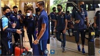 IND vs SL 2021: Shikhar Dhawan-Led Team India Lands in Colombo For Limited-Overs Series Versus Sri Lanka   SEE PICS