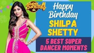 Bollywood Actress Shilpa Shetty Turns 46   5 Special Super Dancer Moments