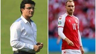 EURO 2020: Sourav Ganguly, Cricket Fraternity Wish Denmark's Christian Eriksen Speedy Recovery