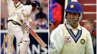 WATCH: When Sourav Ganguly Stood His Ground Stunned After Being Bowled by a Aussie Part-Timer