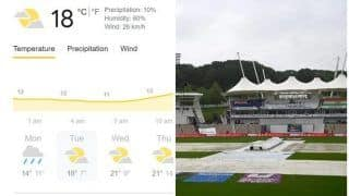 LIVE Southampton Weather Updates, June 22, Tuesday, India vs New Zealand Day 5, WTC 2021 Final: Rain, Bad Light, Overcast Conditions Could Play Spoilsport; Reserve Day Likely