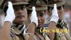 UPSC Recruitment 2021: भारत सरकार के इस मंत्रालय में अधिकारी बनने का गोल्डन चांस, जल्द करें अप्लाई, लाखों में मिलेगी सैलरी