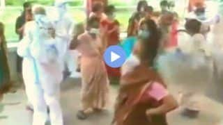 Viral Video: PPE-clad Healthcare Workers Dance to Cheer Up Patients in Assam's Covid Care | WATCH