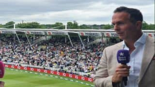 India have been saved by the weather michael vaughan comments on wtc final 4750788