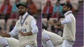 WATCH | Kohli's Bhangra Moves During WTC Final Lights up a Gloomy Day at Hampshire Bowl