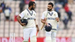 Highlights, India vs New Zealand WTC Final 2021, Day 5: स्टंप तक 32 रन की बढ़त के साथ भारत 64/2, अब रिजर्व डे पर होगा फैसला