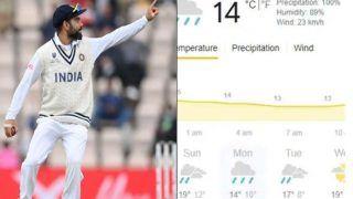 Weather Forecast Today, Day-4, IND vs NZ: क्या चौथे दिन भी बारिश-खराब रौशनी से प्रभावित होगा मैच ? यहां है पूरी जानकारी