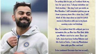 'My Love For You is True' - Kohli's OLD Love Letter is Something You Don't Want to Miss