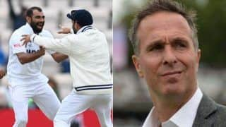 India vs new zealand wtc 2021 michael vaughan brutally trolled after his comment new zealand would have won if match played up north 4760649