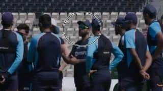 WATCH: Kohli's Gives Pep Talk to Indian Team Ahead of WTC Final