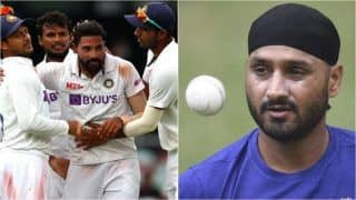 WTC Final 2021: Mohammed Siraj Should Play Ahead of Ishant Sharma as 3rd Pacer in India Playing 11 vs New Zealand, Says Harbhajan Singh