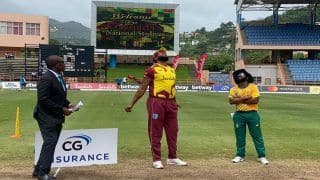 AS IT HAPPENED West Indies vs South Africa 1st T20I Score And Updates: WI Restrict SA To 160
