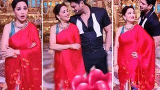 Sidharth Shukla-Madhuri Dixit Turn Jackie Shroff-Dimple Kapadia As They Groove To Tera Naam Liya - Watch